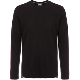 super.natural Piquet Longsleeve Shirt Men grey/black